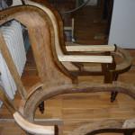 Fotele po ściągnięciu starej tapicerki 2